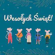 Życzymy Wam spokoju, zdrowia i bliskości  w te święta i na codzień 💫  Odpocznijcie, zadzwońcie do tych, z którymi nie możecie się spotkać i wysyłajcie w świat dobrą energię!   Ściskamy świątecznie ❤️  #mousehouseshop #wesołychświąt