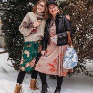 Hej! Te piękne, uśmiechnięte panie to siostry Zosia i Agata z @miszkomaszko i przygotowały dla Was nie lada gratkę! O północy ruszyła promocja ich kolorowych ubrań i potrwa do 28 lutego! ❤️ Do upolowania sukienki Astrid i Tonya, spódnice Frida oraz spodnie Ronja i marynarki  Laura do -50% 🔥 Zapraszamy! ☺️  #wyprzedaz #miszkomaszko #mousehouseshop #sale #robimymiejscenanowosci #zmysly #kolorowesukienki #polskiemarki #polskamoda